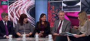 Tara on BBC2s Victoria Derbyshire Show
