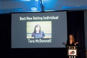 Tara is the Winner, UK Dating Awards 2015 Gala Evening